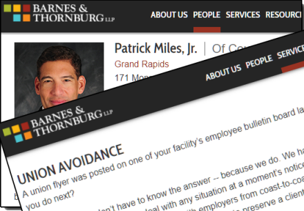 Patrick Miles and His Union Busting Law Firms - Michigan Progressive